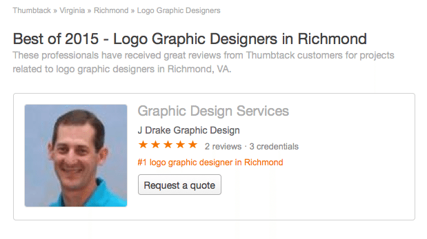 Best of 2015 – Logo Graphic Designers in Richmond, VA