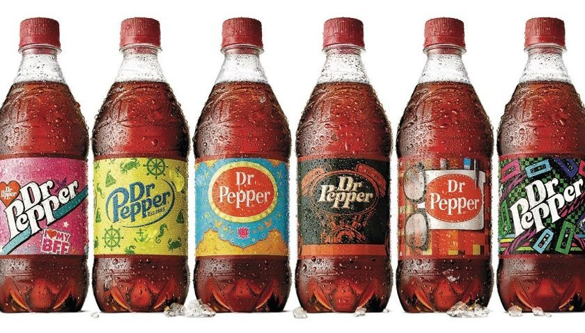 Dr Pepper Custom Labels