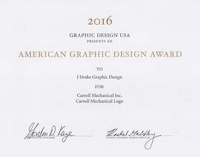 2016 American Graphic Design award winner
