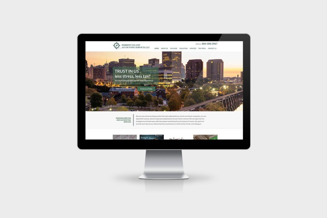 Horizon Tax And Accounting Website