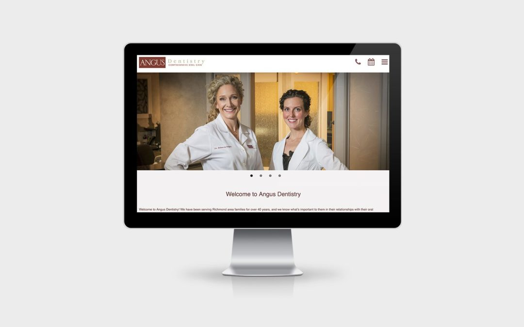 Angus Dentistry Website