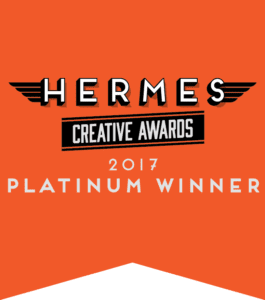 2017 Platinum Award Winner Hermes Creative Awards